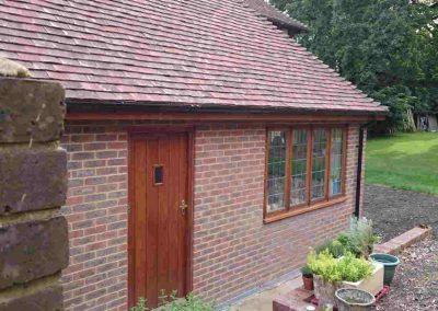 Extension-in-Upper-Dicker,-with-reclaimed-oak-windows-and-door,-East-Sussex