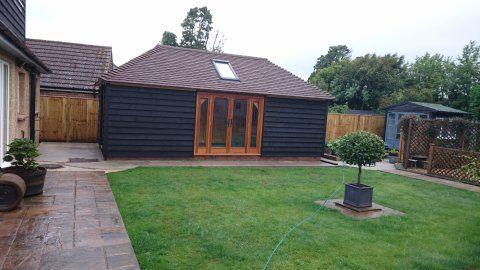 Oak frame building, Hailsham, East Sussex