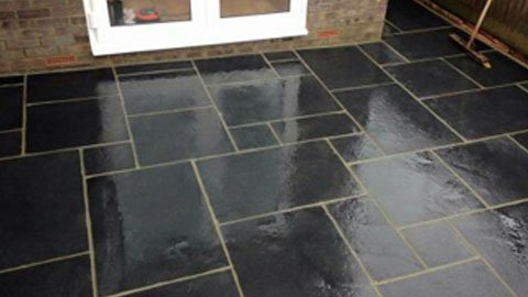 Patio in Hailsham, East Sussex