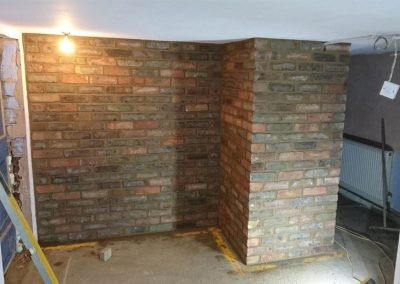 Reclaimed-bricks-in-basement-East-Grinstead,-West-Sussex